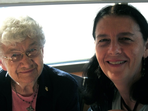 me and aunt vi- summer 2011