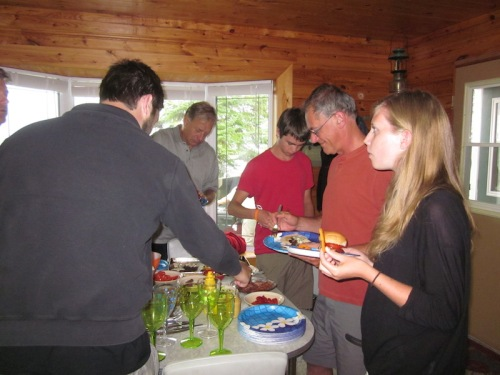 supper at moose lake