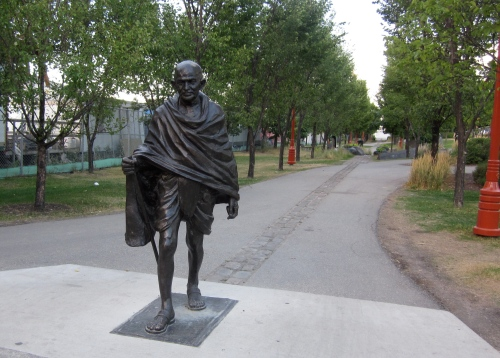 ghandi in winnipeg