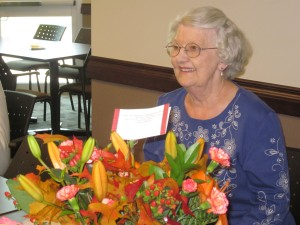 My Aunt Mary on her 80th birthday