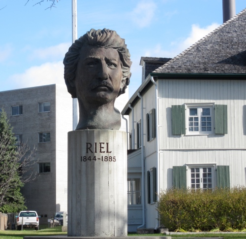 louis riel at grey nun's museum