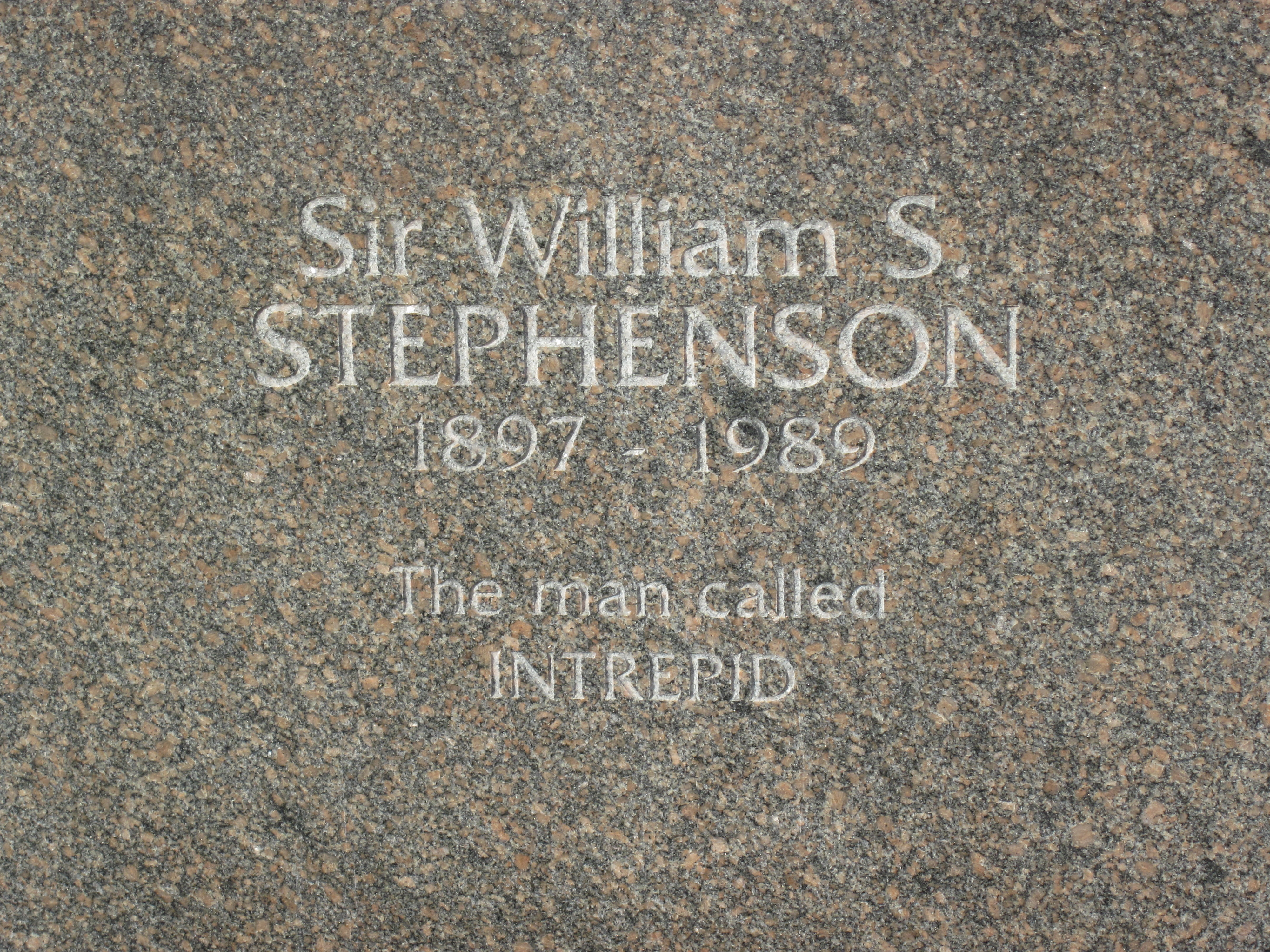sir william stephenson an inspiration for The name is stephenson, william stephenson  often considered to be the inspiration for the  although roosevelt didn't establish exactly what sir william had.
