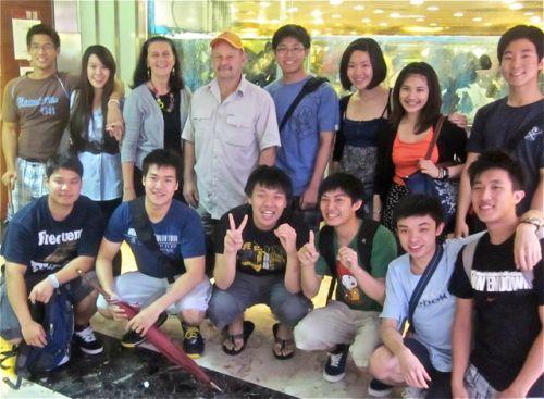 hong kong student farewell