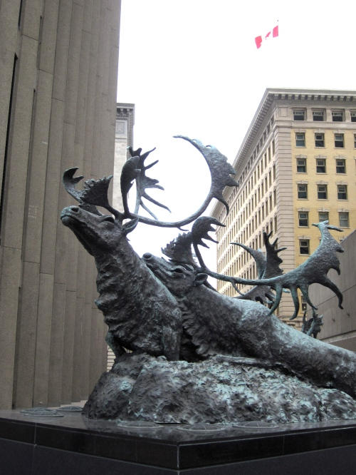 caribou crossing portage and main