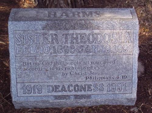 theodosia's grave