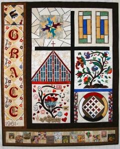 Grace Mennonite Quilt by Linda Klassen
