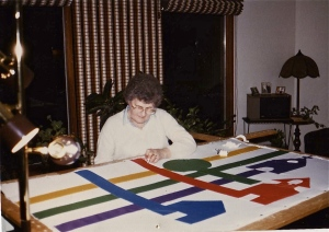 Dave's Mom quilting