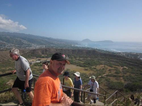 dave at diamond head