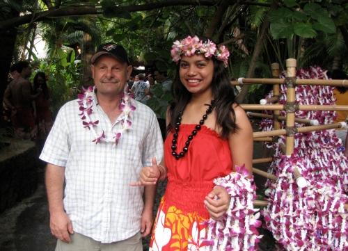 dave at polynesian cultural centre