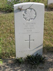 canadian grave sai wan war cemetary