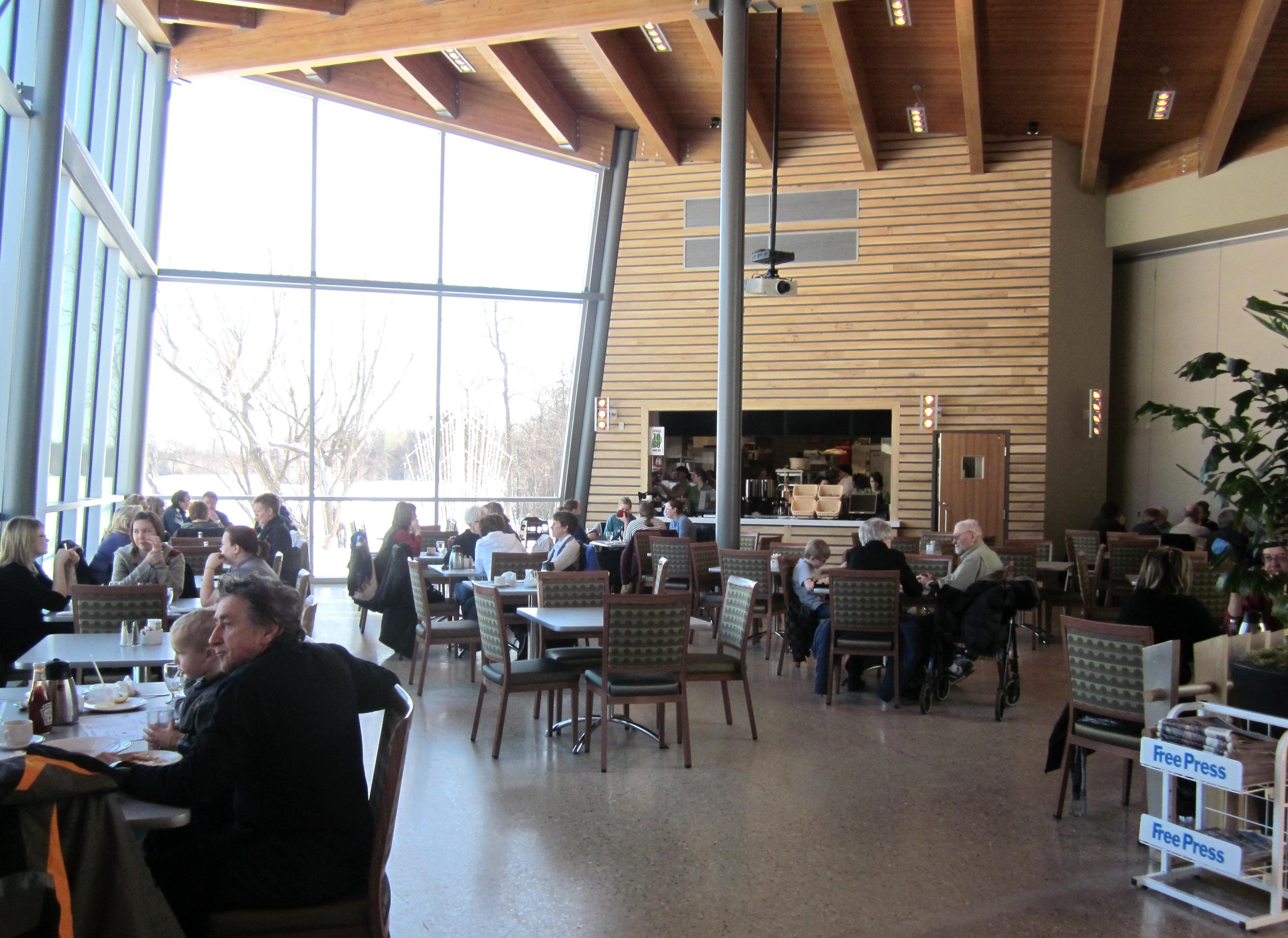 Qualico Restaurant Assiniboine Park Winnipeg