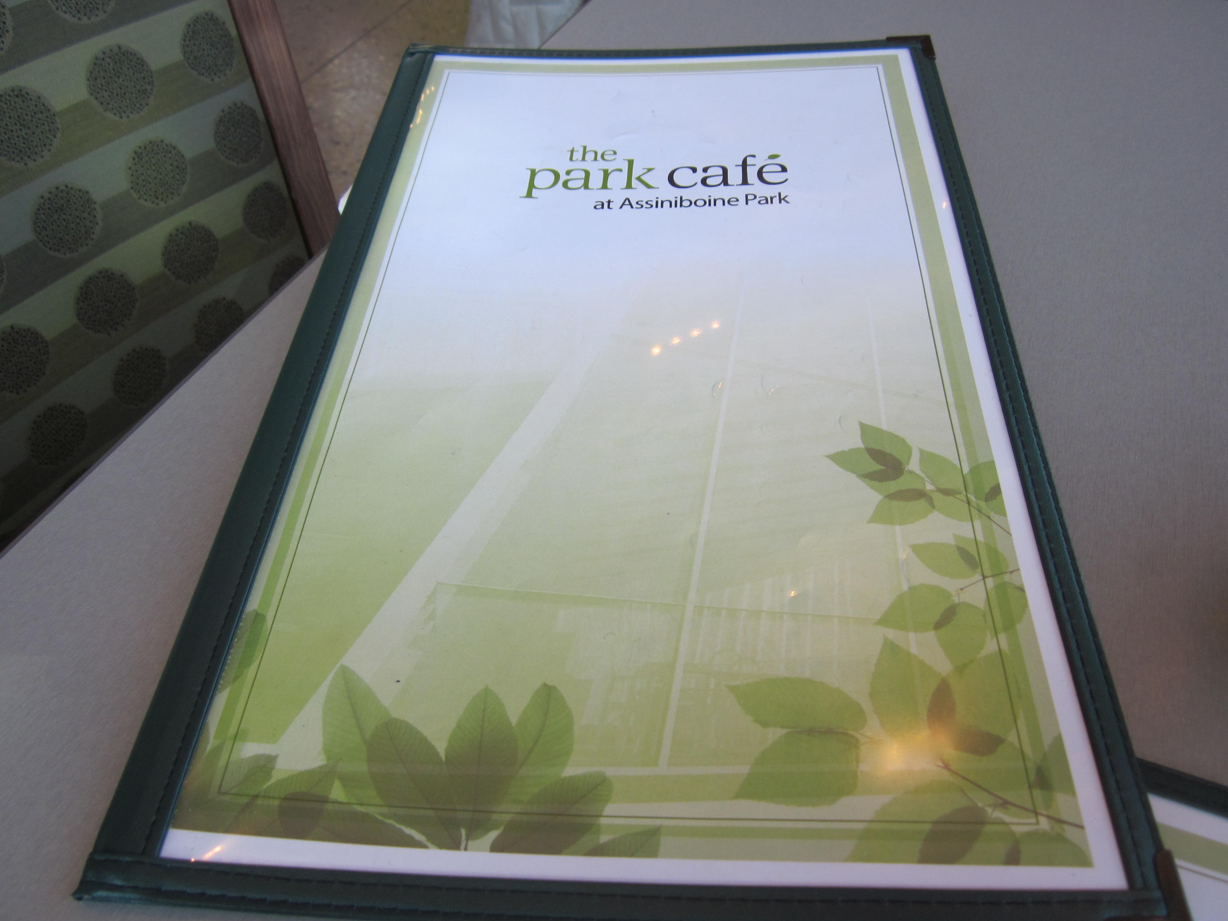 Assiniboine Park Pavilion Restaurant Menu