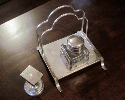 silver letter holder from grandma schmidt