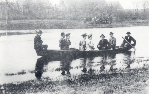 rowing on the enns estate
