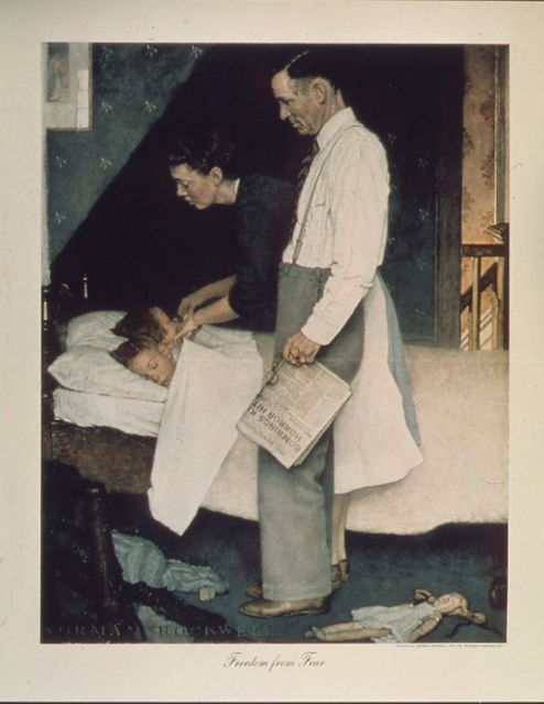 freedom from fear norman rockwell
