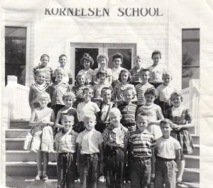 Miss Toews' Grade Four Class at Kornelson School