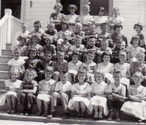 My grade three class at the Kornelson School in Steinbach