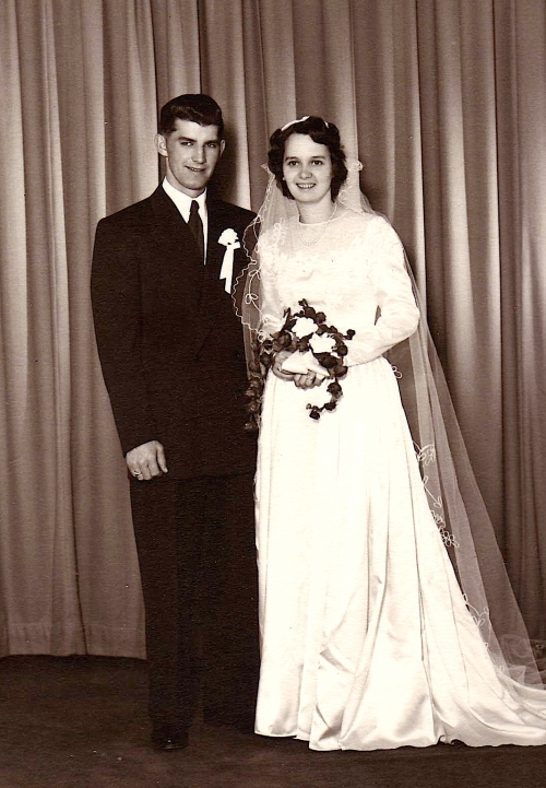 Mom and Dad were married in 1952