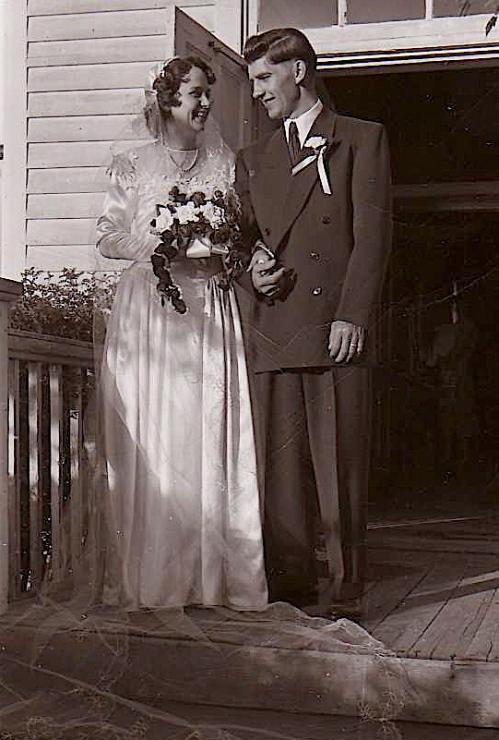 wedding picture 1952