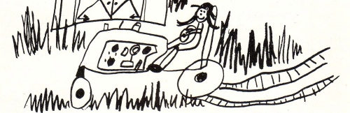 Illustration by Bridget Bernardi age seven for an article I wrote for The Daughters of Sarah magazine