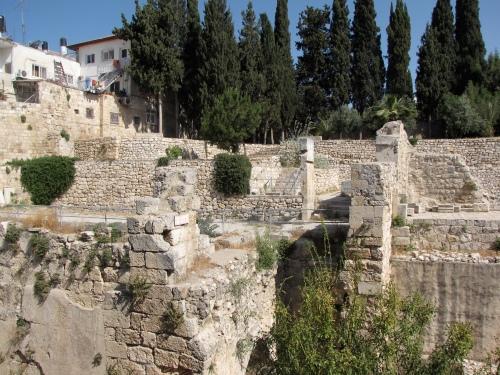 jerusalem the pool of bethesday