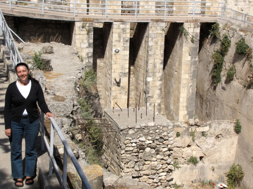 five porches pool of bethesda jerusalem