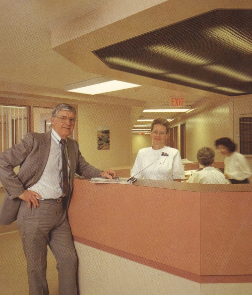dad as a doctor at bethesda hospital in steinbach