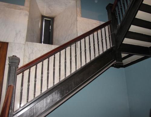 stairwell millenium centre winnipeg