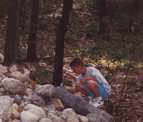 writing wishes at walden pond