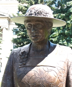 irene parlby famous five manitoba legislature grounds