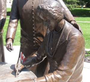 nellie mcclung the famous five manitoba legislative grounds