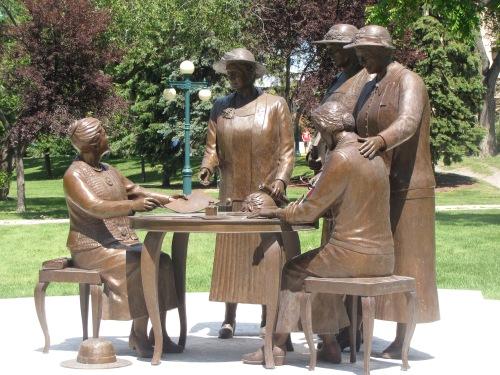 the famous five manitoba legislature grounds winnipeg