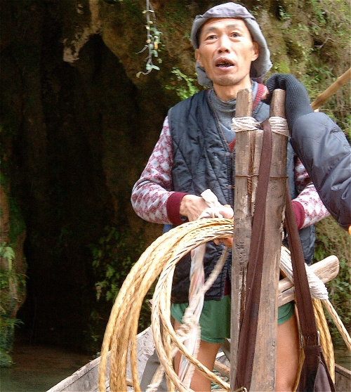 I interviewed one of our Bamboo Gorge trackers and learned so much from him about life in China.