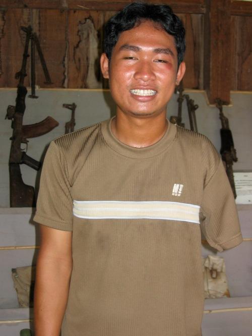 cambodia land mines museum guide