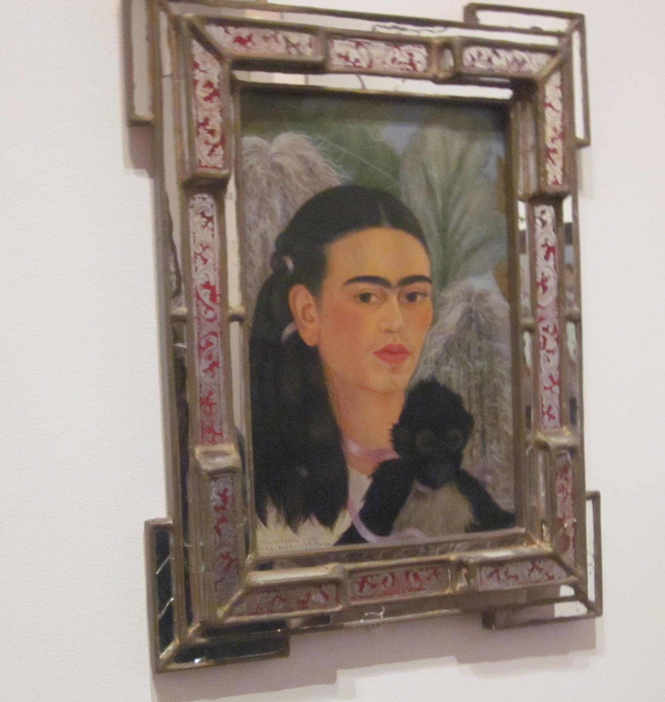 frida kahlo self portrait museum of modern art new york
