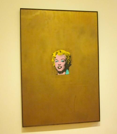 gold marilyn munroe by andy warhol