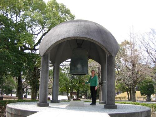 peace bell hiroshima