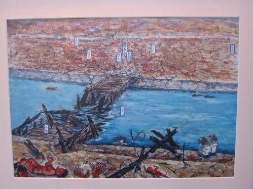 child's painting hiroshima peace museum