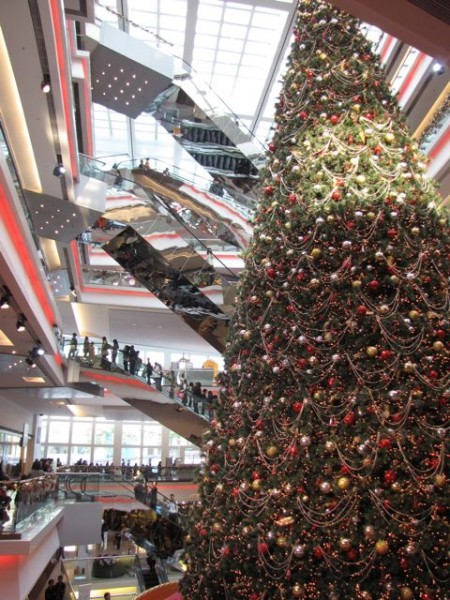 Christmas Tree in Festival Walk December 2010