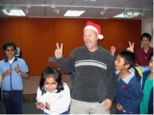 Party for Refugee Children in Hong Kong