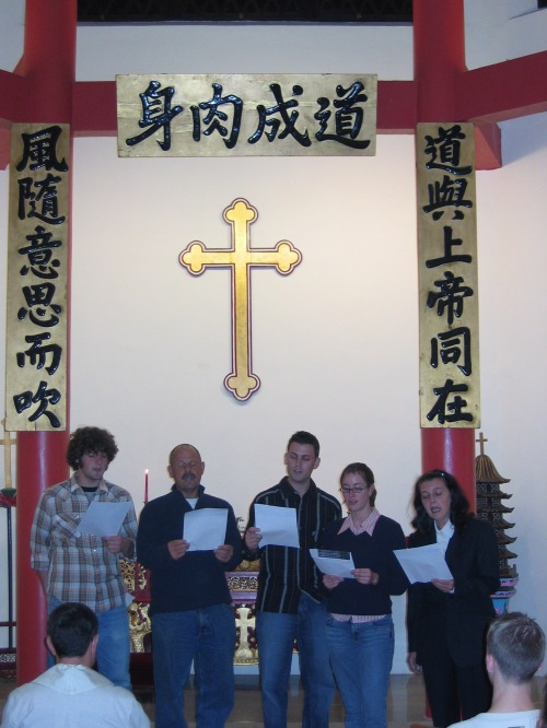 christmas singing tao fong shan