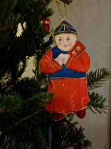 chinese christmas ornament