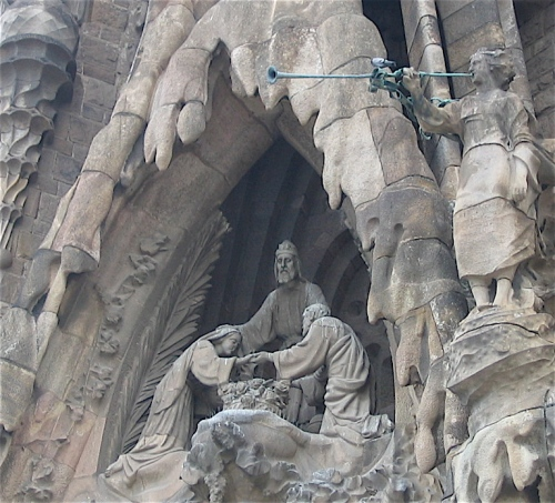 mary and joseph are engaged sagrada familia