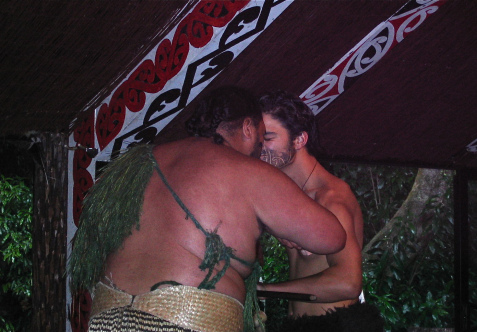 maori greeting by marylou driedger