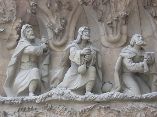 the magi sagrada familia