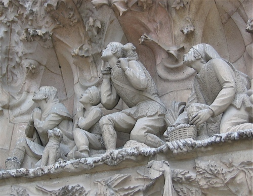 the shepherd sagrada familia