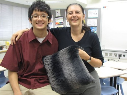 yk and pillow
