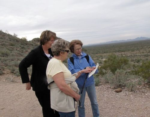 consulting the map on silly mountain
