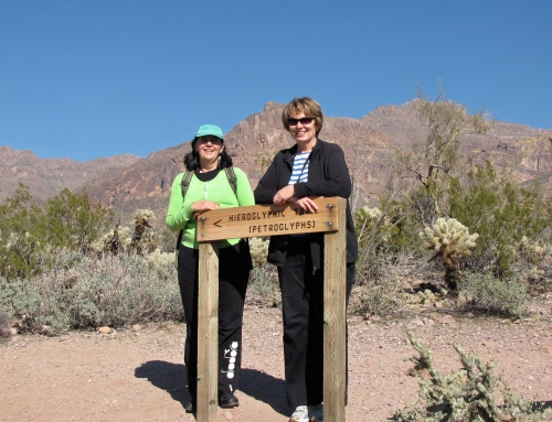 hieroglyphic trail sign gold canyon arizona