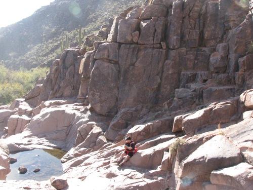 pools on hieroglyphic trail gold canyon